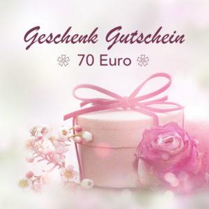70 Euro Kosmetik Gutschein
