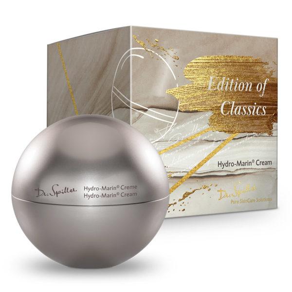 Dr. Spiller Hydro-Marin Creme. Intensive Anti-Aging-Pflege mit Detox-Wirkung für den perfekten Auftritt zur Weihnachtszeit.